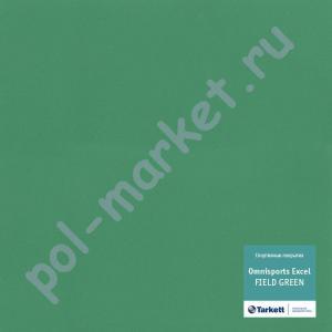Купить Omnisports EXCEL 8.3мм Спортивный линолеум оптом: Tarkett (Таркетт), Omnisports Excel (Омниспорт Ексель), ширина 2 метра, FIELD GREEN  в Екатеринбурге