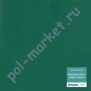 Купить Omnisports EXCEL 8.3мм Спортивный линолеум оптом: Tarkett (Таркетт), Omnisports Excel (Омниспорт Ексель), ширина 2 метра, FOREST GREEN  в Екатеринбурге