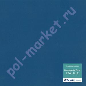 Спортивный линолеум оптом: Tarkett (Таркетт), Omnisports Excel (Омниспорт Ексель), ширина 2 метра, ROYAL BLUE