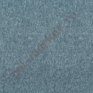 Ковровая плитка Sintelon (Сербия), SKY (50*50, КМ2, 100%РА) синяя 44382