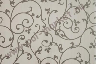 Пластиковые панели Venta (вента), ВИНТАЖ белое серебро (2600*375*8) 110Н