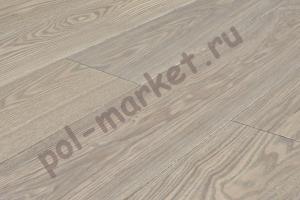 Купить Классика (1-полосная) Паркетная доска Amber wood ясень белый 189мм  в Екатеринбурге
