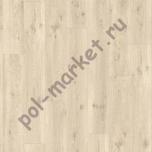 ПВХ плитка на замках Quick Step, Balance Click, BACL40017, Светло-бежевый дуб