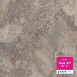 Линолеум Tarkett (Таркетт), Idylle Nova (Идиллия Нова), PLATO 3, ширина 3 метра, полукоммерческий, ТЗИ (ОПТ)