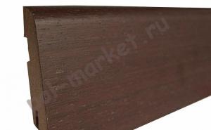 Купить Плинтус шпонированный Braim (Австрия) Плинтус Braim шпонированный высокий (539486, Венге, 80x15x2400мм)  в Екатеринбурге