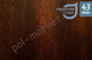 Купить AQUAFLOOR (Бельгия) Клеевое ПВХ покрытие Aquafloor (2мм, 0.5мм, 43кл) AF5523 GLUE Андироба  в Екатеринбурге