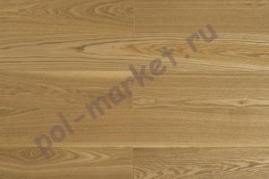 Массивная доска Amber Wood (Амбер Вуд), Ясень Натур (Бесцветный лак), 120мм