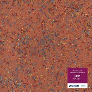 Линолеум Tarkett (Таркетт), Extra (Экстра), VIVID 17, ширина 3 метра, акустический-гетерогенный (ОПТ)