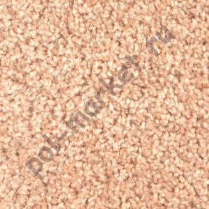 Ковролин Зартекс, Фортуна, 4, Кремовый, ширина 3.5 метра, средний ворс (розница)