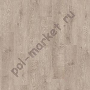 Замковая пвх плитка Quick step Balance click BACL40133 жемчужный серо-коричневый дуб