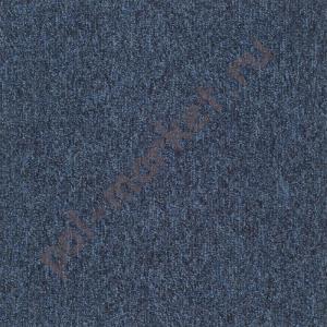 Ковровая плитка Sintelon (Сербия), SKY (50*50, КМ2, 100%РА) т.синяя 44882