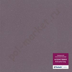 Линолеум Tarkett (Таркетт), Accent Universal (Акцент Юниверсал), Antrazite Grey, ширина 2 метра, противоскользящий-гетерогенный (ОПТ)