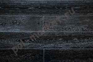 Массивная доска Amber Wood дуб черно-белый 120мм