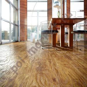 Купить IVC IMPRESS (Бельгия) ПВХ плитка на замках Moduleo Impress Click (Модулео Импресс Клик), EASTERN HICKORY 442, 42 класс  в Екатеринбурге