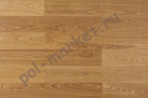 Массивная доска Amber Wood (Амбер Вуд), Ясень Селект (Бесцветный лак), 120мм
