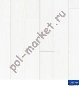 Ламинат Quick Step (Квик Степ), Impressive (Импрессив, 32кл, 8мм, 4V-фаска) Белоснежный, IM1859