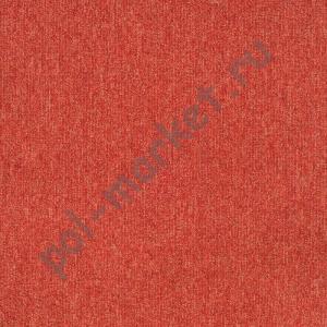 Ковровая плитка Sintelon (Сербия), SKY (50*50, КМ2, 100%РА) красная 77582