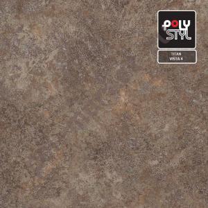 Купить TITAN - полукоммерческий Линолеум Polystyl (Полистил), Titan (Титан), VISTA 4, ширина 3 метра, полукоммерческий (ОПТ)  в Екатеринбурге