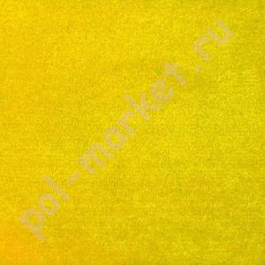 Купить ФЕСТА (велюр) Ковролин Sintelon (Синтелон), Феста, 99735, Желтый, ширина 4 метра, средний ворс (розница)  в Екатеринбурге