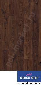 Купить PERSPECTIVE 32/9.5/4V Ламинат Quick step (Квик Степ), Perspective (Перспектив, 32кл, 9.5мм, 4V-фаска) UF1496 Доска дуба белого затемненная  в Екатеринбурге