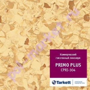 Линолеум Tarkett (Таркетт), Primo Рlus (Примо Плюс), 304, коричневый, ширина 2 метра, коммерческий-гомогенный (ОПТ)