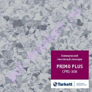 Линолеум Tarkett (Таркетт), Primo Рlus (Примо Плюс), 308, синий, ширина 2 метра, коммерческий-гомогенный (ОПТ)