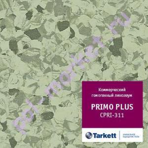 Линолеум Tarkett (Таркетт), Primo Рlus (Примо Плюс), 311, св.зеленый, ширина 2 метра, коммерческий-гомогенный (ОПТ)