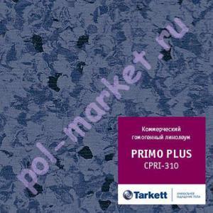 Линолеум Tarkett (Таркетт), Primo Рlus (Примо Плюс), 310, т.синий, ширина 2 метра, коммерческий-гомогенный (ОПТ)