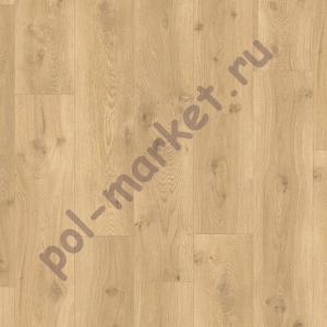 ПВХ плитка на замках Quick Step, Balance Click, BACL40018, Бежевый дуб