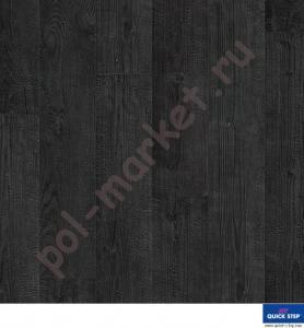 Ламинат Quick Step (Квик Степ), Impressive (Импрессив, 32кл, 8мм, 4V-фаска) Дуб чёрная ночь, IM1862