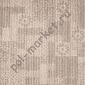 Купить Антеп (скролл) Ковролин в нарезку Зартекс Антеп 118 бело-серый (3 метра)  в Екатеринбурге