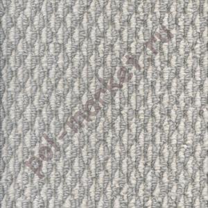 Купить Анкона (бербер) Ковролин в нарезку Зартекс Анкона 118 бело-серый (4 метра)  в Екатеринбурге