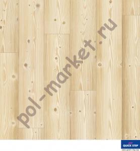 Купить Impressive (32/8/4V) Ламинат Quick Step Impressive IM1860 сосна натуральная  в Екатеринбурге