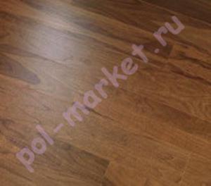 Паркетная доска Par-Ky (Пар-Кай), Deluxe (Делюкс), DS+203, Орех Smoked, 1-полосный