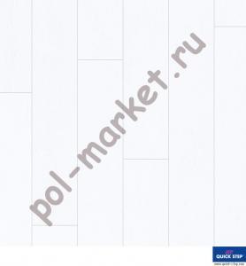 Купить IMPRESSIVE ULTRA 33/12/4U Ламинат Quick Step (Квик степ), Impressive Ultra (Импрессив Ультра, 33кл, 12мм, 4V-фаска) Дуб пепельный, IMU1992  в Екатеринбурге