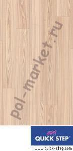 Купить PERSPECTIVE 32/9.5/4V Ламинат Quick step (Квик Степ), Perspective (Перспектив, 32кл, 9.5мм, 4V-фаска) UF1184 доска ясеневая белая  в Екатеринбурге