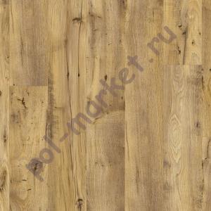 Замковая пвх плитка Quick step Balance click BACL40029 каштан винтажный натуральный