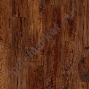 Ламинат Quick step (Квик степ), Perspective Wide (Перспектив Вайд, 32кл, 9.5мм, 4V-фаска) UFW1542, Реставрированный тёмный каштан