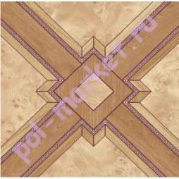 Линолеум Комитекс, Парма, Роял 823, ширина 2.5 метра, бытовой, ТЗИ (ОПТ)