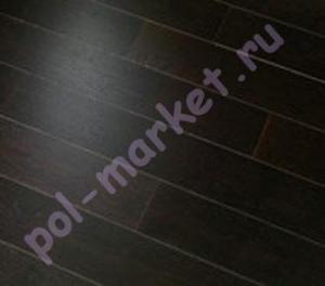 Паркетная доска Par-Ky (Пар-Кай), Deluxe (Делюкс), DB+108, Дуб Chocolate brushed, 1-полосный