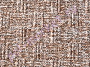 Ковролин Balta (Балта), Luna (Луна), 760 бежево-коричнево, ширина 3 метра, средний ворс (розница)