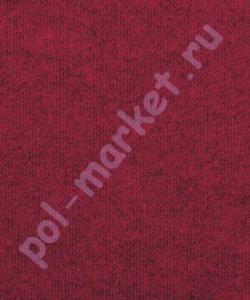 Ковролин в нарезку Синтелон Меридиан 1175 красный (4 метра)