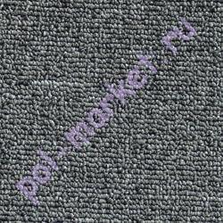 Ковролин Зартекс, Хальброн, 85, Антрацитовый, ширина 4 метра, низкий ворс (розница)