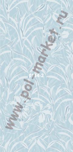Пластиковые панели Экопласт, Орхидея голубая (2700*250*9) 0114/2