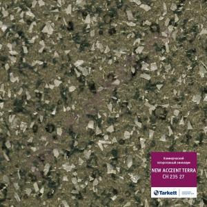 Купить ACCEZENT TERRA (КМ2) - коммерческий гетерогенный Линолеум Tarkett (Таркетт), Accezent Terra (Акцент Терра), CH 235 27, ширина 2 метра, коммерческий-гетерогенный (ОПТ)  в Екатеринбурге