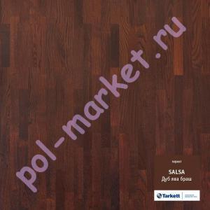 Купить SALSA 3-полосный Паркетная доска Tarkett (Таркетт), Salsa (Сальса), Дуб ява браш PN, 3-полосный  в Екатеринбурге