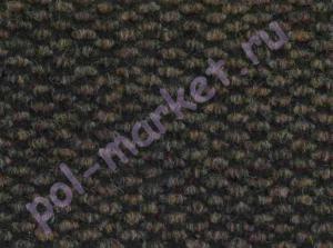 Ковролин Ideal (Идеал), Brussele (Брюссель), 7058, коричневый, ширина 4 метра, коммерческий (нарезка)