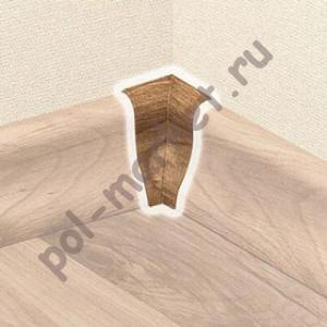 Угол внутренний T-Plast  (в цвет плинтуса)