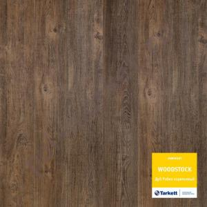 Ламинат Tarkett (Таркетт), Woodstock Premium (Вудсток премиум, 33кл, 8мм) Дуб робин коричневый