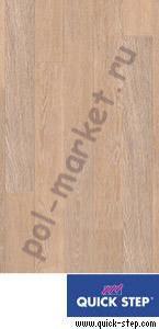 Ламинат Quick step (Квик Степ), Perspective (Перспектив, 32кл, 9.5мм, 4V-фаска) UF1896 доска дубовая отбеленная